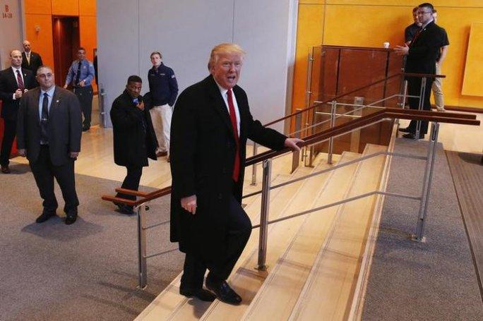Tổng thống đắc cử Mỹ Donald Trump. Ảnh: REUTERS