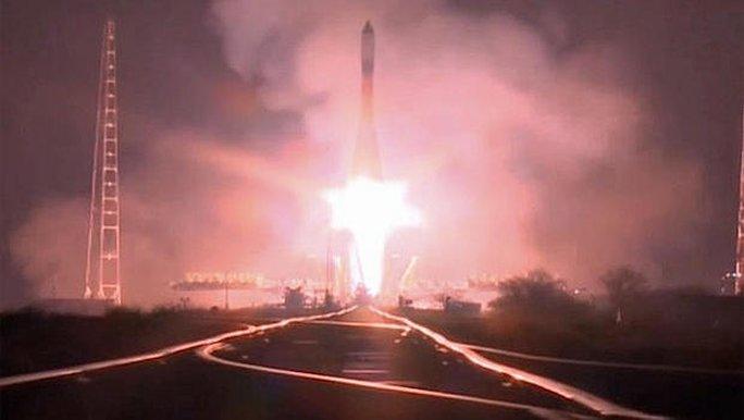 Tàu chở hàng Progress MS-04 được phóng lên ISS hôm 1-12. Ảnh: NASA