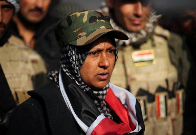 Miaad al-Jubbouri là Sư tử cái sông Tigris. Ảnh: REUTERS