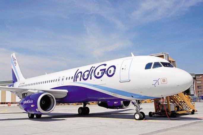 Một máy bay của hãng IndiGo. Ảnh: LIVEMINT