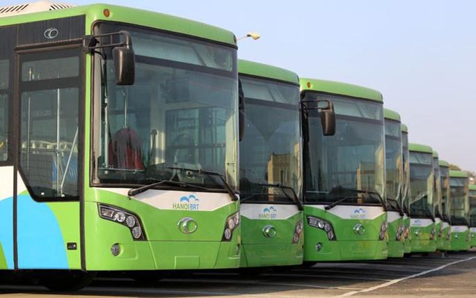 Xe buýt nhanh đã không chạy thử như dự kiến của Sở GTVT Hà Nội