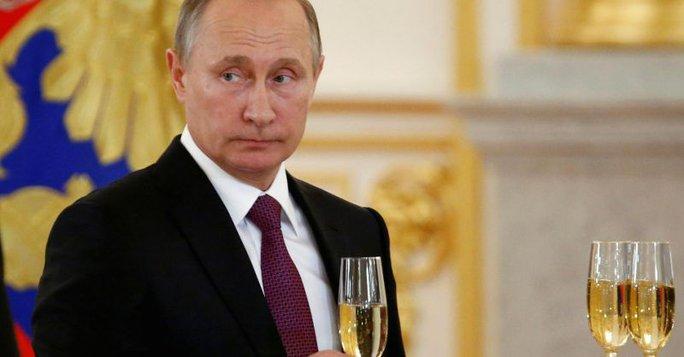 Tổng thống Nga Vladimir Putin. Ảnh: YAHOO