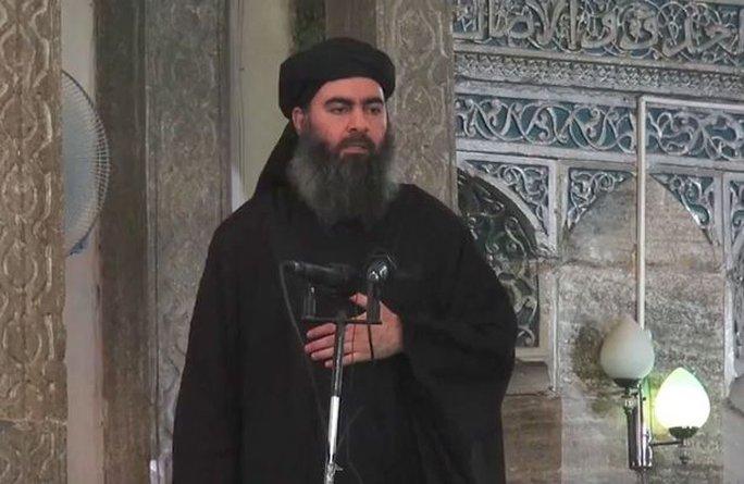 Abu Bakr al-Baghdadi. Ảnh: MIRROR