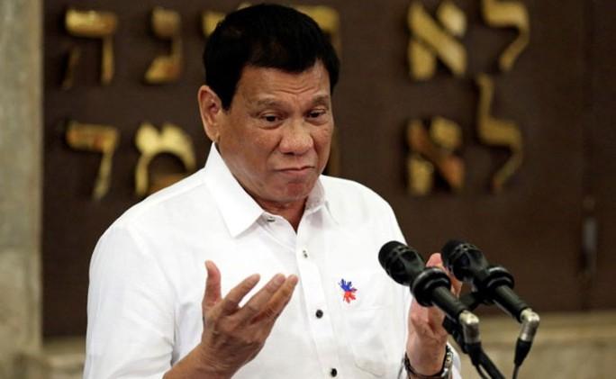 Ông Duterte lại châm ngòi căng thẳng với Mỹ. Ảnh: AP