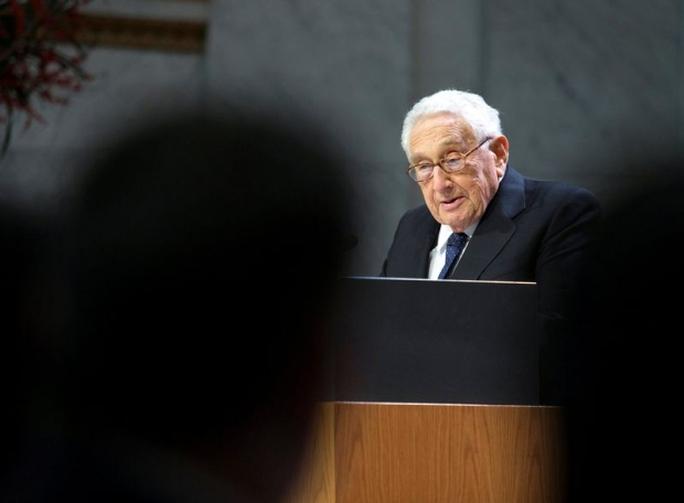 Cựu Ngoại trưởng Mỹ Henry Kissinger. Ảnh: REUTERS