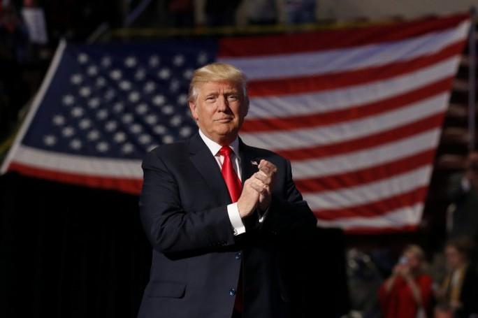 ÔNg Trump giành chiến thắng trong cuộc bỏ phiếu của Cử tri đoàn. Ảnh: REUTERS