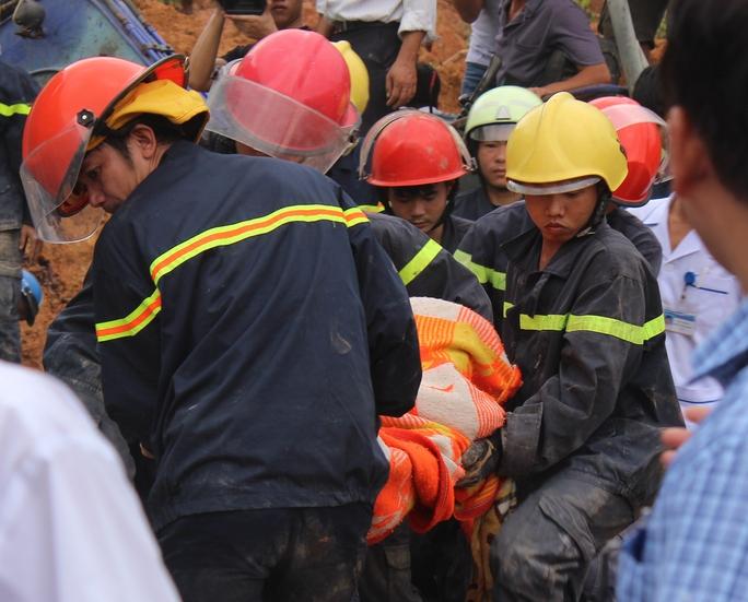 Lực lượng cứu nạn tìm thấy thi thể bà Hoa