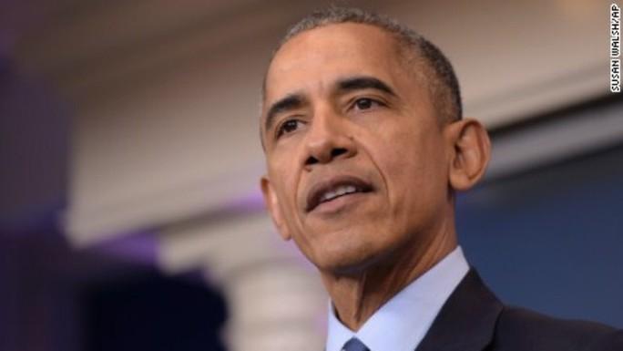 Tổng thống Obama quyết ngăn chặn hoạt động thăm dò dầu khí ở Bắc Cực và Đại Tây Dương. Ảnh: AP