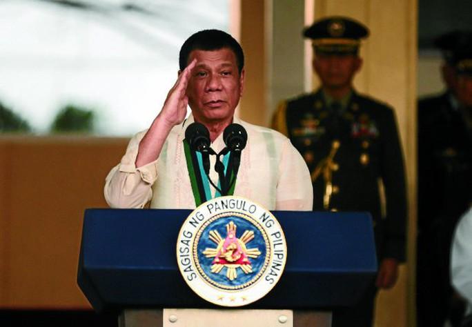 Tổng thống Duterte. Ảnh: INQUIRER