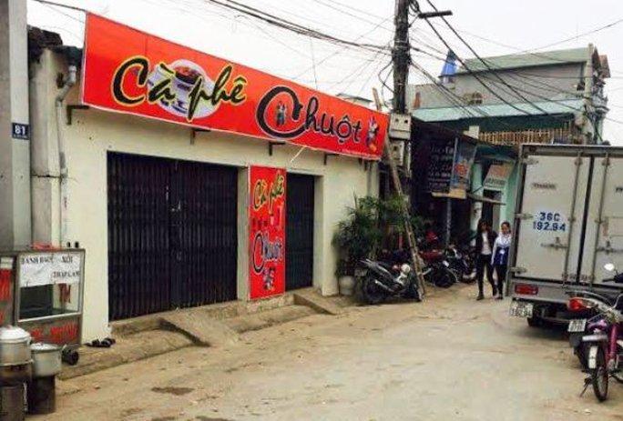 Khu vực nơi xảy ra cuộc rượt đuổi, nổ súng bắn người trong đêm tại thôn Thành Mai