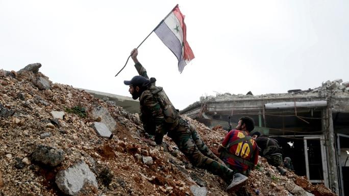 Quân đội Nga vừa tìm thấy mộ tập thể ở Aleppo. Ảnh: AP
