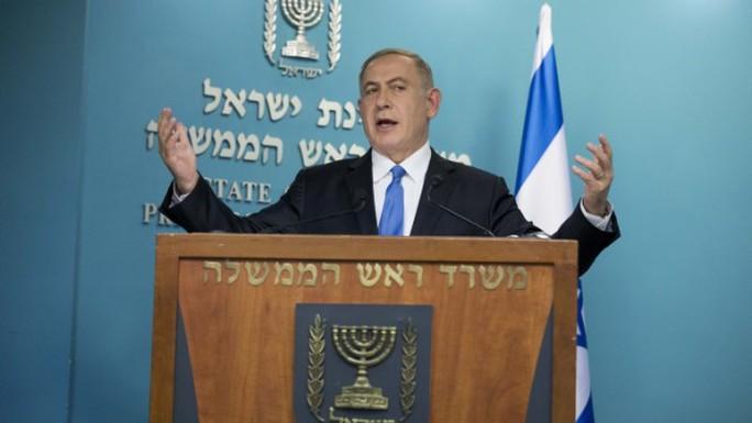 Thủ tướng Israel chỉ trích phát biểu của Ngoại trưởng Mỹ. Ảnh: FLASH90