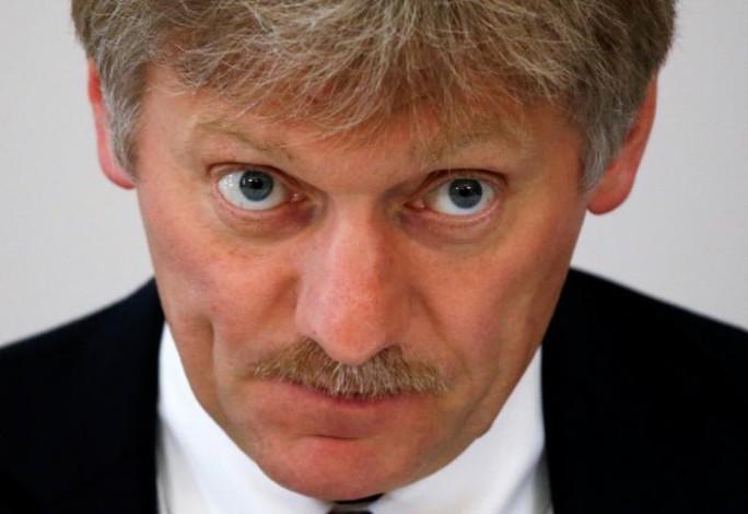 Phát ngôn viên của ông Putin, Dmitry Peskov, muốn trả đũa Mỹ. Ảnh: REUTERS