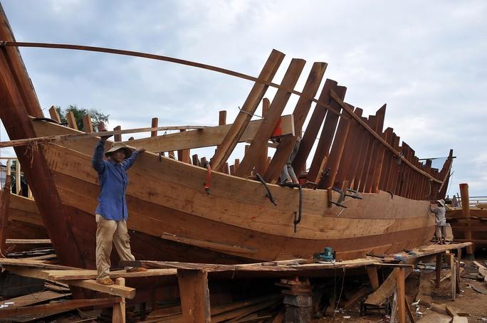 Vì không còn chỉ tiêu phân bổ, nhiều ngư dân Quảng Ngãi không đóng được tàu cá vươn khơi