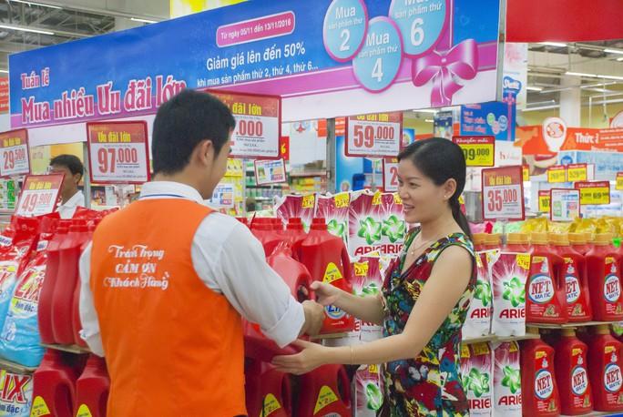 Từ ngày 21 đến 27-11, khách hàng mua sắm tại Co.opmart và Co.opXtra được hưởng nhiều ưu đãi