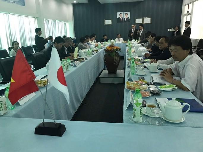 Đoàn doanh nghiệp Nhật và Công ty CP KCN Thành Thành Công (TTCIZ) trao đổi về cơ hội hợp tác