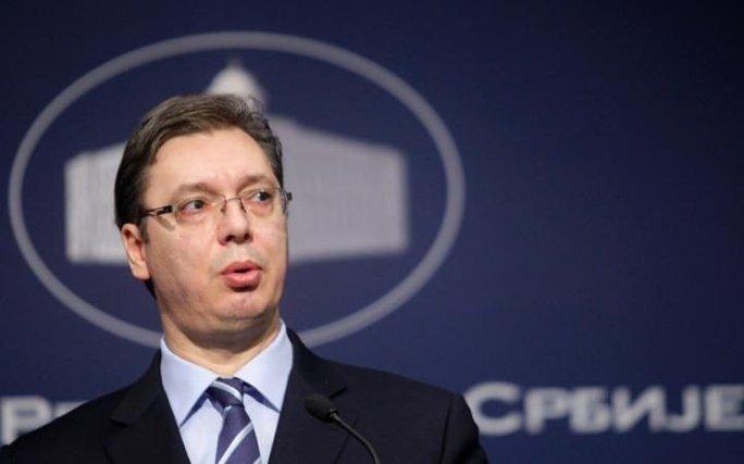 Thủ tướng Serbia Aleksandar Vučić. Ảnh: EPA
