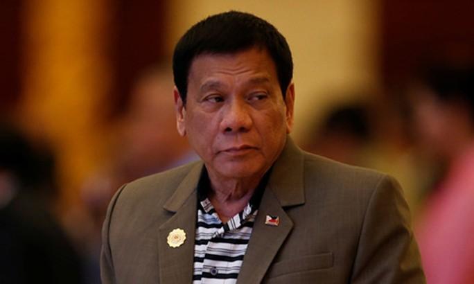 Tổng thống Duterte hôm 16-12 xác nhận tự tay giết 3 người. Ảnh: Reuters