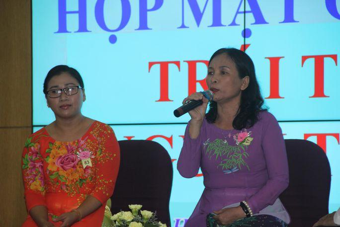 Chính hình ảnh cao đẹp của thầy đã khiến cô Dương Thị Hải Quý, giáo viên Trường THPT Nguyễn Huệ, quyết tâm theo nghề giáo
