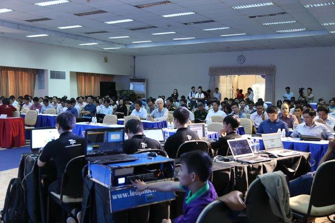 Diễn tập phòng chống tấn công mạng tại Công viên Phần mềm Quang Trung (TP HCM)