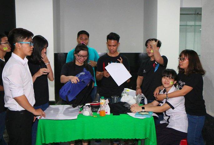 Sinh viên Trường ĐH Tân Tạo trong giờ ngoại khóa Ảnh: WEBSITE TRƯỜNG ĐH TÂN TẠO