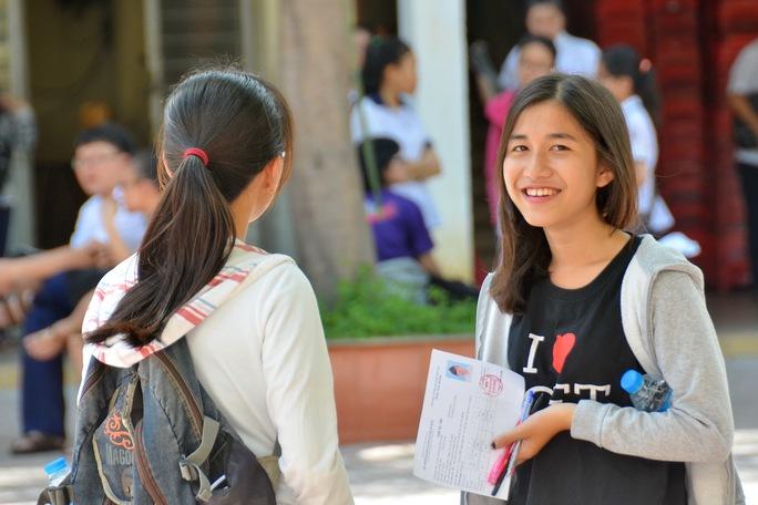 Thí sinh tham dự kỳ thi THPT quốc gia năm 2016 Ảnh: Tấn Thạnh