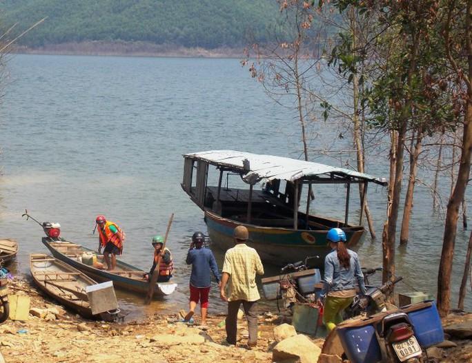 Sông Tranh, nơi phát hiện thi thể vợ chồng ông Thương
