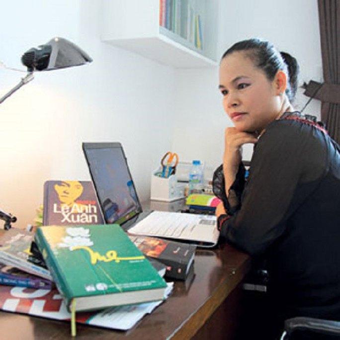 Nhà văn Trầm Hương. (Ảnh do nhân vật cung cấp)