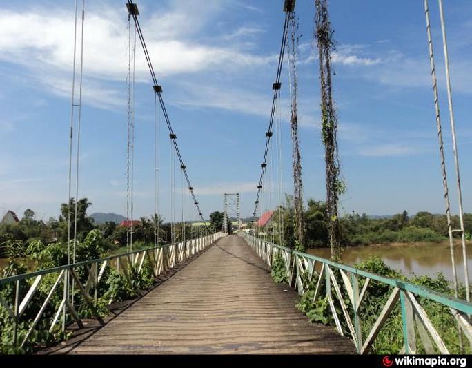 Cầu Tà Lài lúc chưa sập