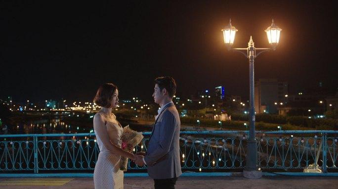 """Cảnh trong phim """"Sài Gòn, anh yêu em"""". (Ảnh do nhà phát hành cung cấp)"""