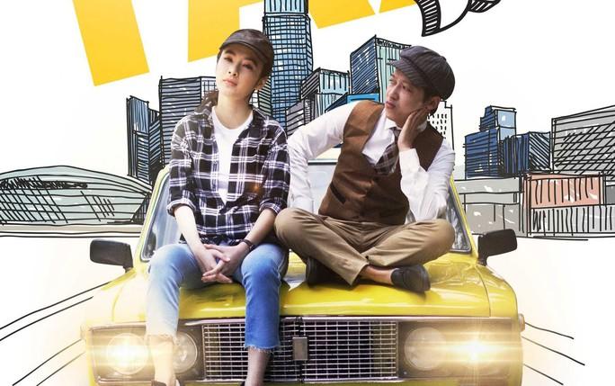 """Đạo diễn Đức Thịnh nói rằng: """"Phim hôm nay ra rạp, hôm sau đã có đầy trên mạng. Bộ phim """"Taxi em tên gì?"""" là một minh chứng"""". (Poster phim """"Taxi em tên gì?)"""