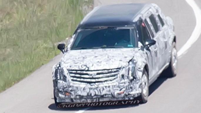 Hãng sản xuất ô tô General Motors được cho là đang thử nghiệm xe mới tân của Tổng thống Donald Trump. Ảnh: Fox News