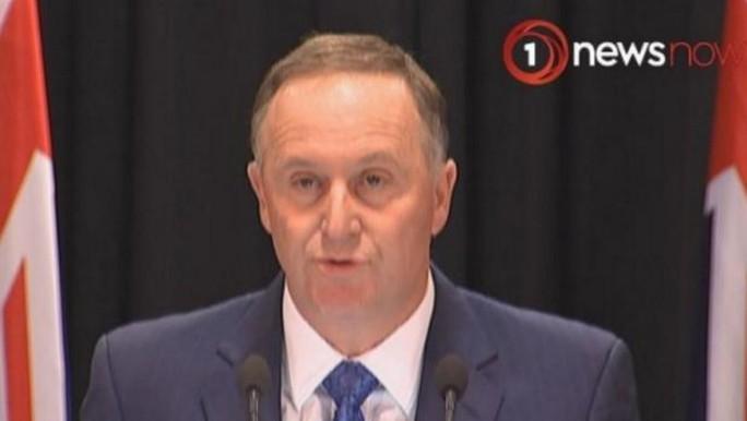 Thủ tướng New Zealand John Key hôm 5-12 tuyên bố sẽ từ chức sau 8 năm lãnh đạo. Ảnh: SMH