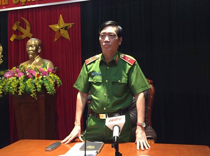 Thiếu tướng Đoàn Việt Mạnh công bố thông tin ban đầu