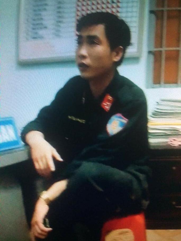Đội tượng Huỳnh Tuấn Phát bị giữ tại cơ quan công an (ảnh: N.B.H)