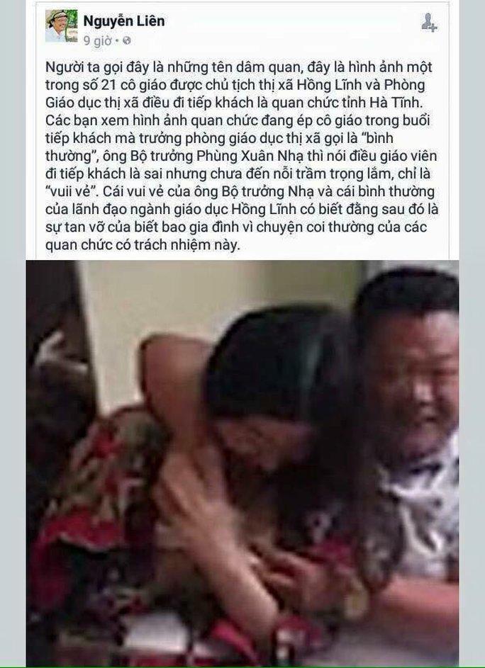 Thông tin sai sự thật của tài khoản Facebook có tên Nguyễn Liên