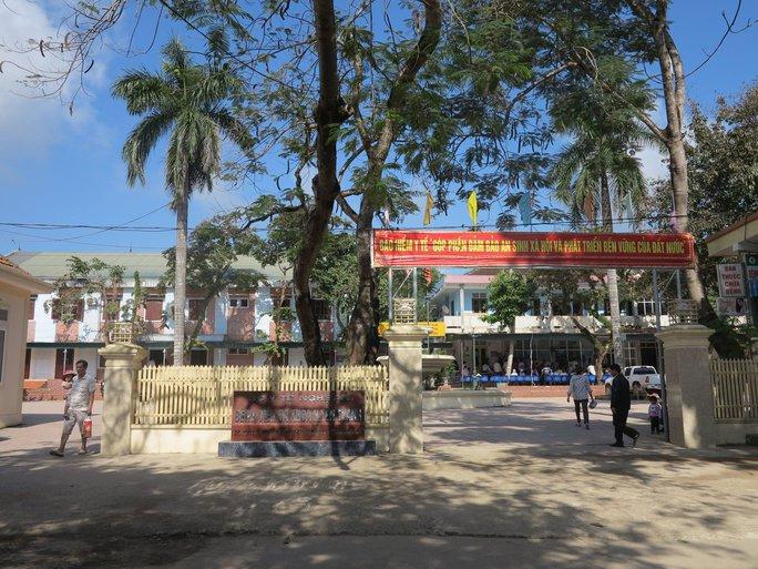 Bệnh viện Yên Thành, nơi xảy ra sự việc