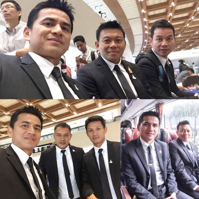 """HLV Kiatisuk tranh thủ """"tự sướng"""" trước khi về Thái"""