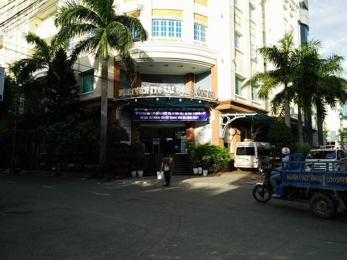 Bệnh viện nơi xảy ra vụ việc
