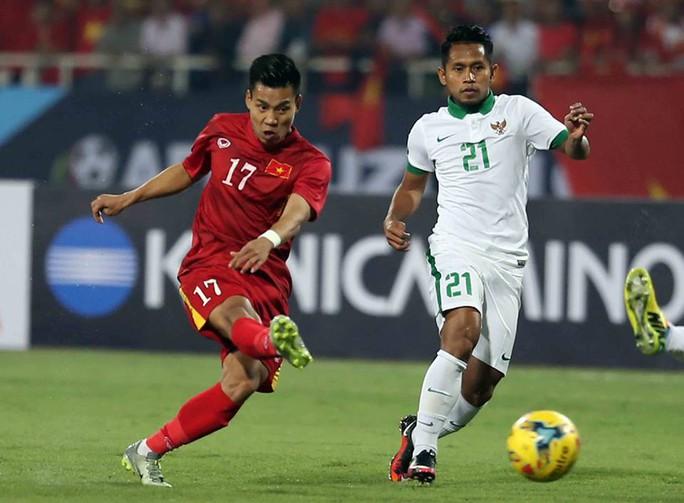 Văn Thanh, người chơi rất hay tại AFF Cup vừa qua, là ứng cử viên cho Quả bóng vàng 2016