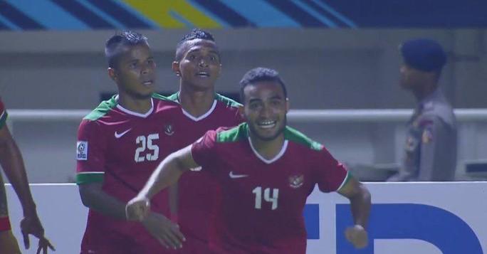 Tuy nhiên Indonesia đã lội ngược dòng ngoạn mục thắng 2-1