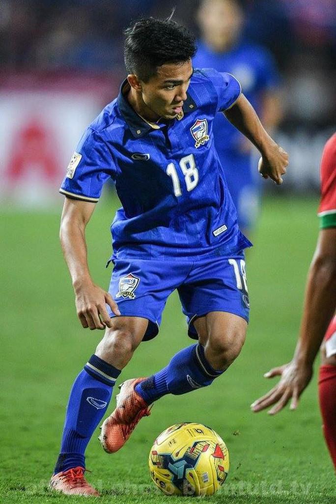 Chanathip Songkrasin được bình chọn là cầu thủ hay nhất AFF Suzuki Cup 2016