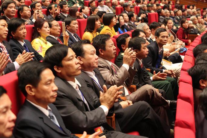 3.500 đại biểu đã tham dự Lễ kỷ niệm 70 năm Ngày Toàn quốc kháng chiến tại Trung tâm Hội nghị Quốc gia sáng 18-12-2016