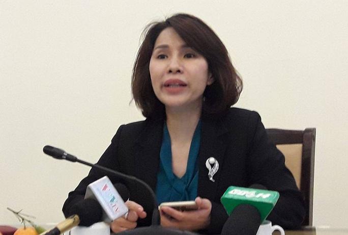 Bà Trần Thị Nhị Hà trả lời về sự việc tại BV Trí Đức