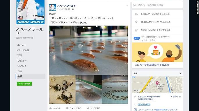 Hình ảnh sân trượt băng trên mạng xã hội. Ảnh: CNN