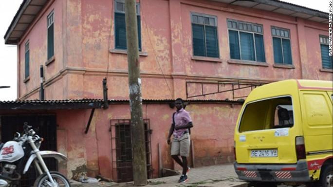 Đại sứ quán Mỹ giả mạo ở Ghana. Ảnh: US Department of State