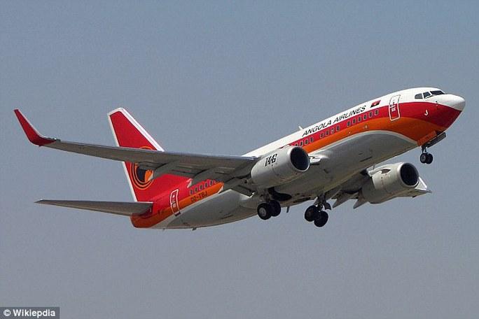 Một máy bay của hãng hàng không TAAG Angola Airlines. Ảnh: WIKIPEDIA