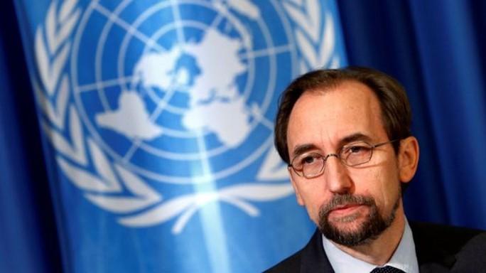 Cao ủy Liên Hiệp Quốc về Nhân quyền Zeid Raad al-Hussein. Ảnh: REUTERS