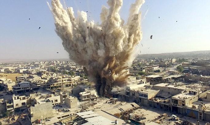 Nga - Mỹ đang căng thẳng về giải pháp cho cuộc khủng hoảng Syria. Ảnh: REUTERS