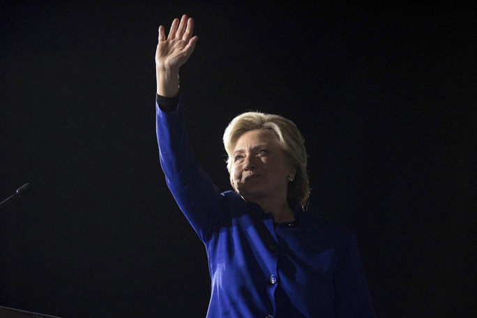 Bà Hillary Clinton. Ảnh: AP